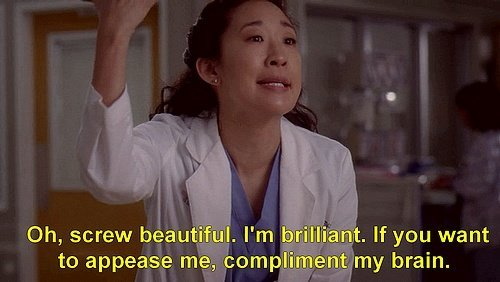 christina yang greys anatomy by surprisinglives.net/screw-beautiful-im-brilliant/