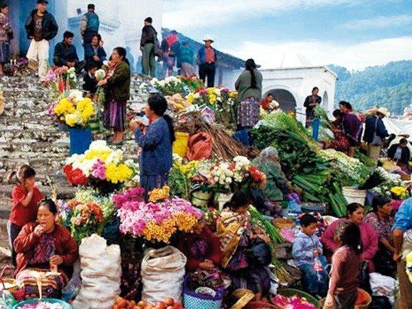 chichicastenango-central market
