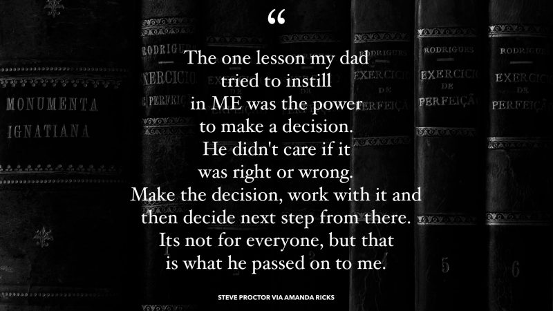 make a decision quote
