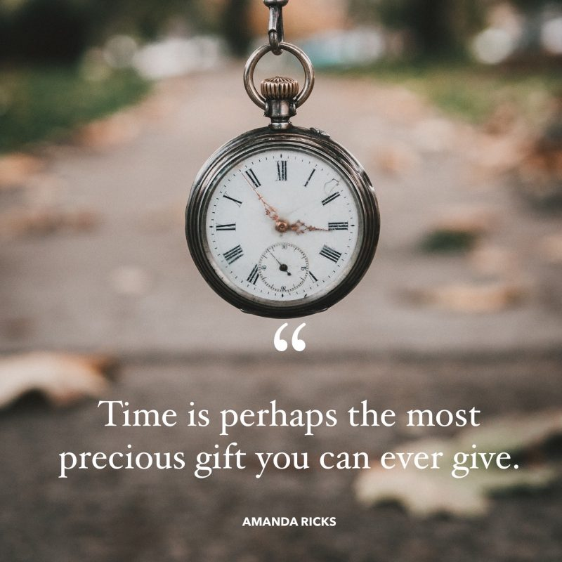 time is a gift quote